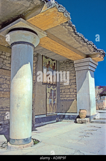 Ancient greece stock photos ancient greece stock images for Ancient greek mural
