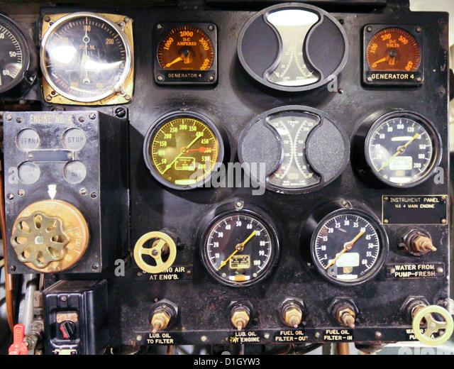 Industrial Instrument Panel : Industrial gauges stock photos