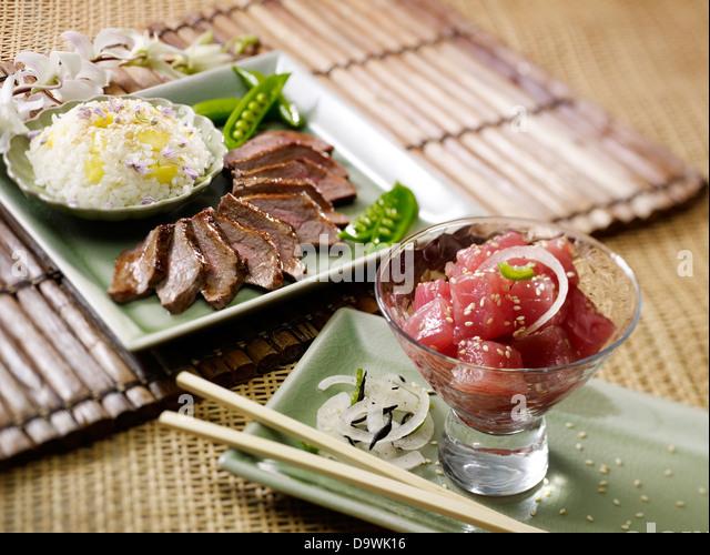 Japanese food - Stock Image