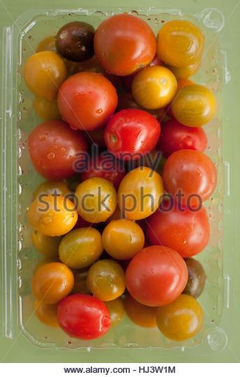 Cherry Heirloom tomatoes - Stock-Bilder