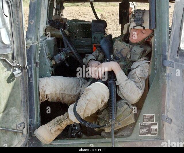 The dangers of falling asleep on guard duty in the army