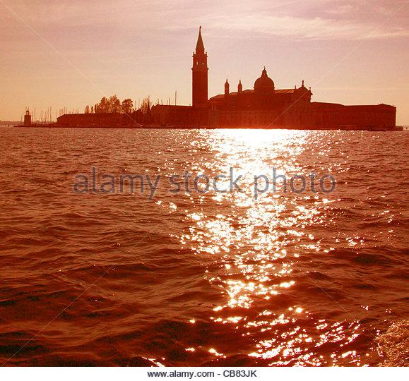 Venice San Giorgio Maggiore - Stock-Bilder