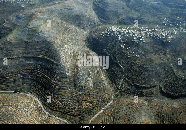 3653. SAMARIA - THE HILL-COUNTRY NORTH OF JERUSALEM, ALOTED TO THE TRIBE OF BINJAMIN - Stock Image