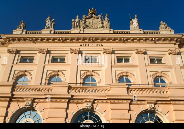 Vienna Albertina Museum - Stock Image