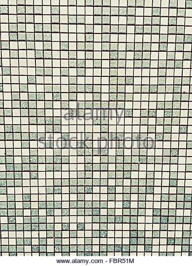 Full Frame Shot Of Tiled Wall - Stock-Bilder