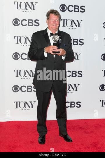 New York, NY, USA. 12th June, 2016. Howell Brinkley in the press room for 70th Annual Tony Awards 2016 - Press Room, - Stock Image