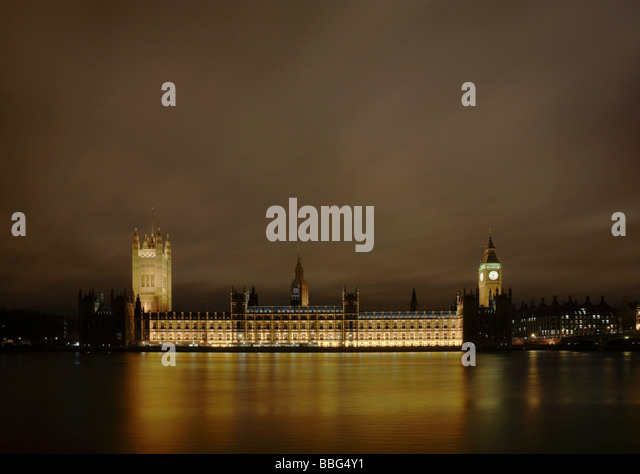 Houses of Parliament,  Westminster - Stock Image