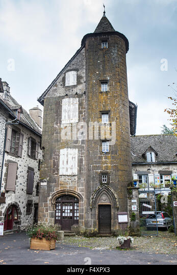 Salers (Cantal,France) - Stock Image