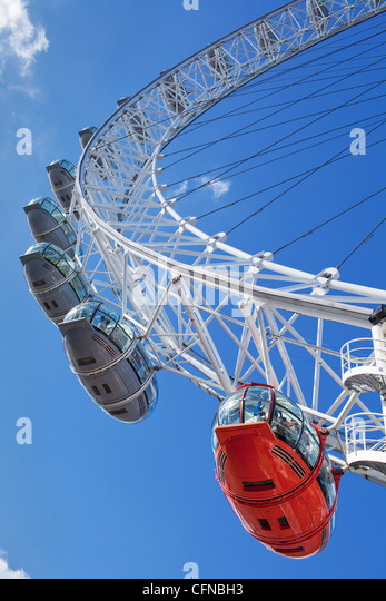The Millennium Wheel (London Eye), London, England, United Kingdom, Europe - Stock-Bilder