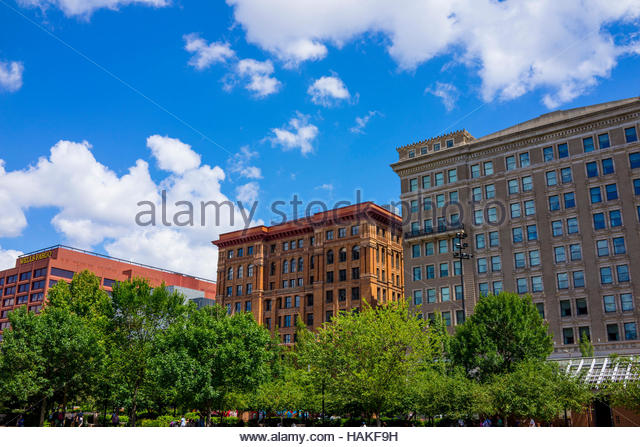 Multi-storey Buildings in Philadelphia, Pennsylvania, USA - Stock Image