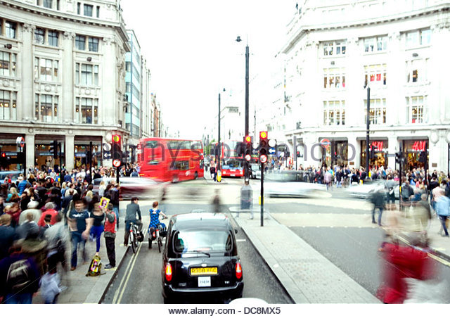 London oxford circus - Stock-Bilder