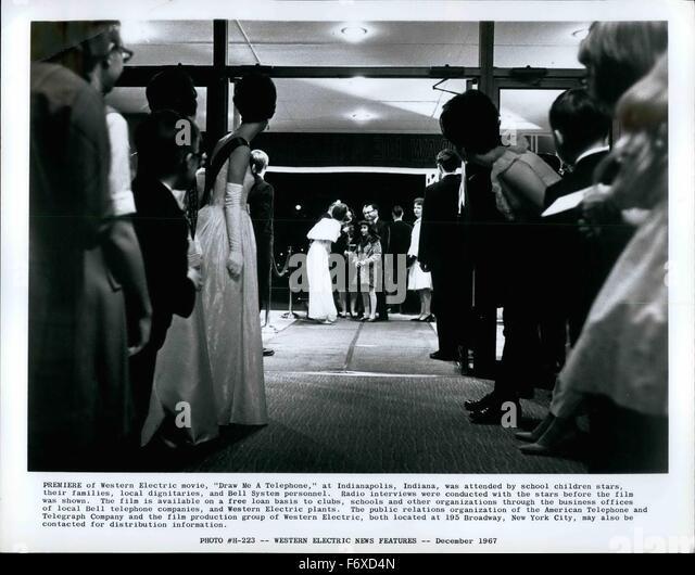 1967 - 'Draw Me A Telephone' Premiere western electric telegraph © Keystone Pictures USA/ZUMAPRESS.com/Alamy - Stock Image