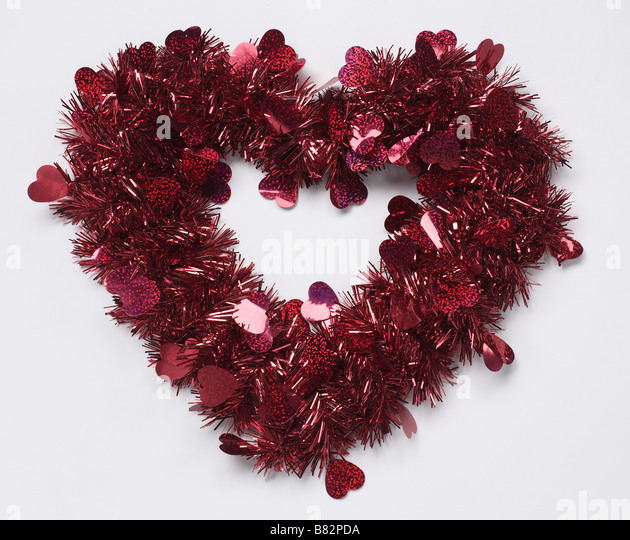 Valentine heart - Stock Image