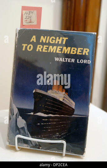a review of a night to remember a book by walter lord A night to remember gets an  between producer william macquitty and walter lord, author of the original nonfiction book  walter lord discusses his.
