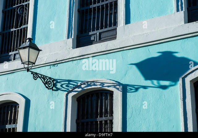Old town of San Juan, UNESCO World Heritage Site, Puerto Rico, West Indies, Caribbean - Stock Image