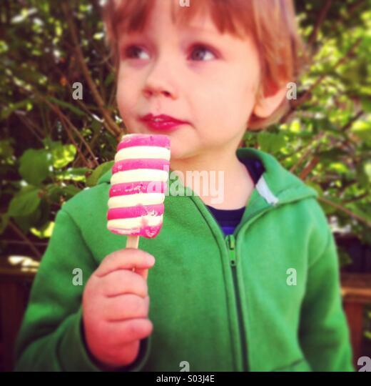 Twister Ice-cream - Stock Image