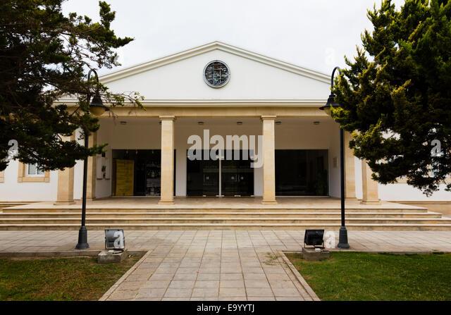 Larnaca Theatre, Larnaca, Cyprus. - Stock Image