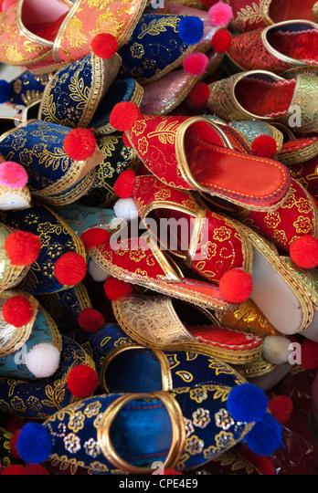 Turkish slippers, Anatolia, Turkey, Asia Minor, Eurasia - Stock Image