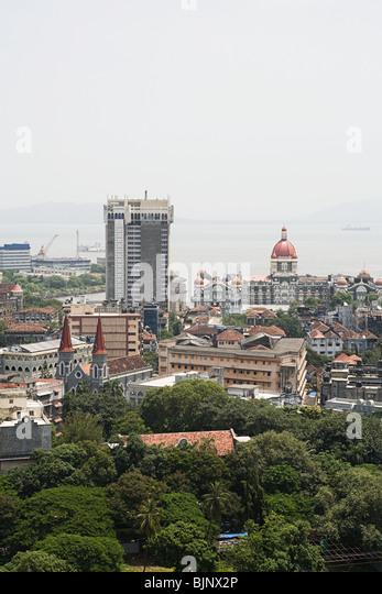 Cityscape of mumbai - Stock Image