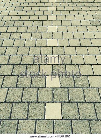 Detail Shot Of Stone Tiled Road - Stock-Bilder
