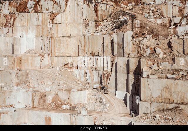 Quarry, Nuoro, Sardinia, Italy - Stock Image