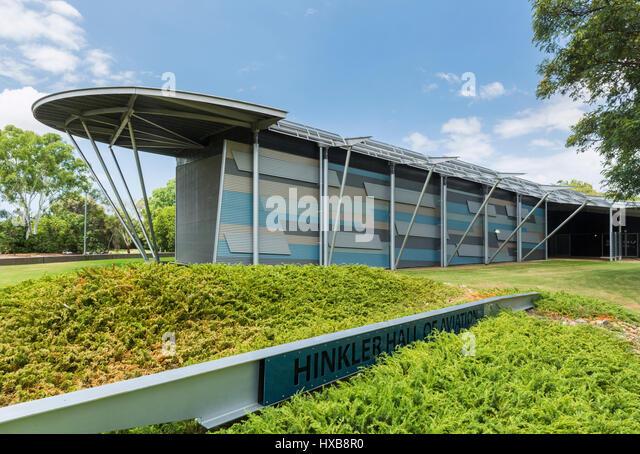 The Hinkler Hall of Aviation located in the Bundaberg Botanic Gardens.  Bundaberg, Queensland, Australia - Stock Image