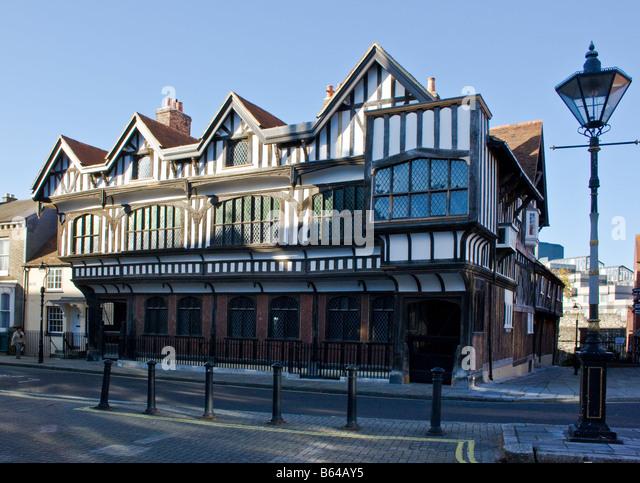 Tudor House Southampton - Stock-Bilder