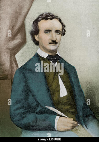 a biography of edgar allan poe the american author and poet This top five classics illustrated edition of edgar allan poe  linked title index and detailed author biography whether you are new to edgar  american poet,.