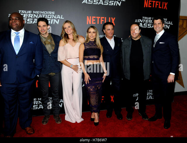 New York, NY, USA. 03rd Nov, 2016. Leonard Earl Howze, Maurice Compte, Lauren Shaw, Zulay Henao, Andy Garcia, Kevin - Stock Image