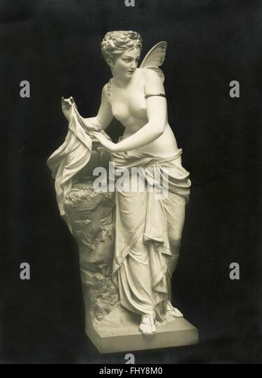 Psyche Kiesel, sculpture - Stock Image