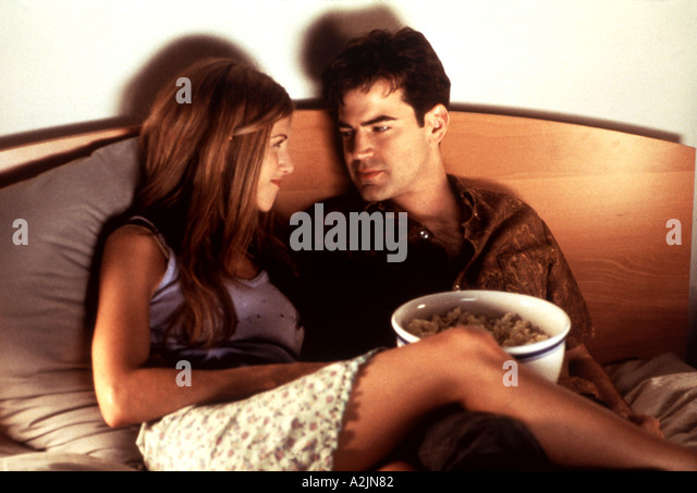 OFFICE SPACE 1999 film with Jennifer Aniston and Ron Livingston - Stock Image