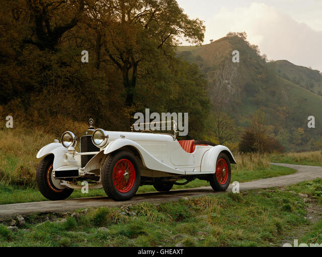 1930 Mercedes Benz 38 250SS Supercharged Sports 2 2 seater Country of origin Germany - Stock Image