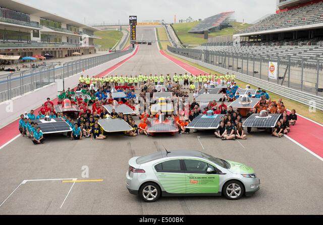 Solar car race stock photos solar car race stock images for Motor mile austin texas