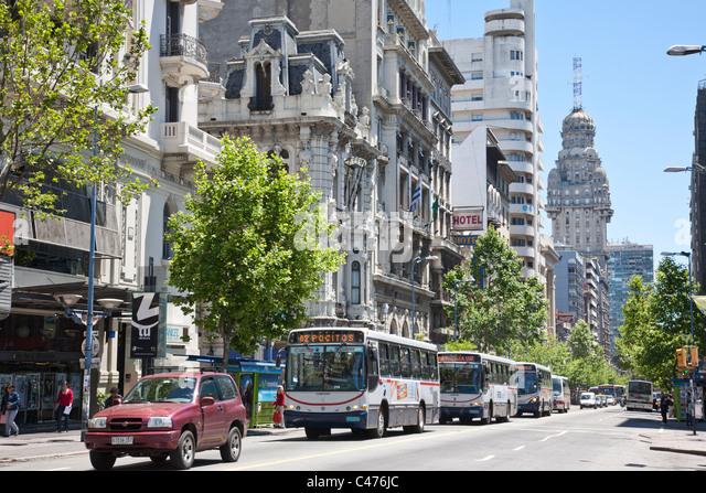 Avenida montevideo stock photos avenida montevideo stock for Avenida muebles uruguay