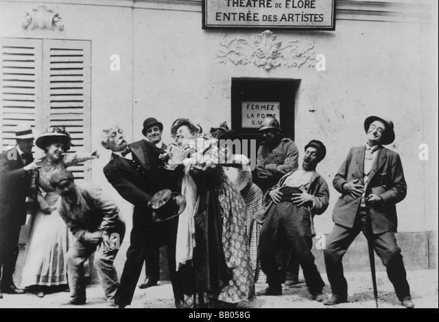 Pour l'étoile S.V.P. Year : 1908 Director : Georges Méliès - Stock Image