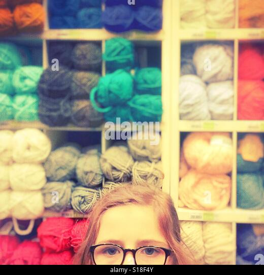 Lost in woolly thoughts - Stock-Bilder