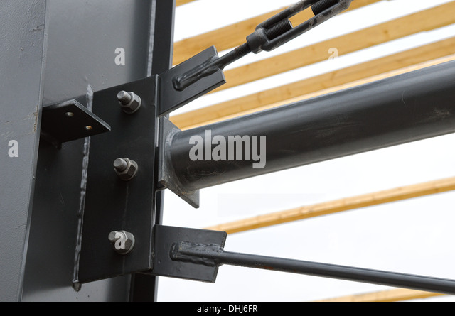 tense with turnbuckle - Stock Image