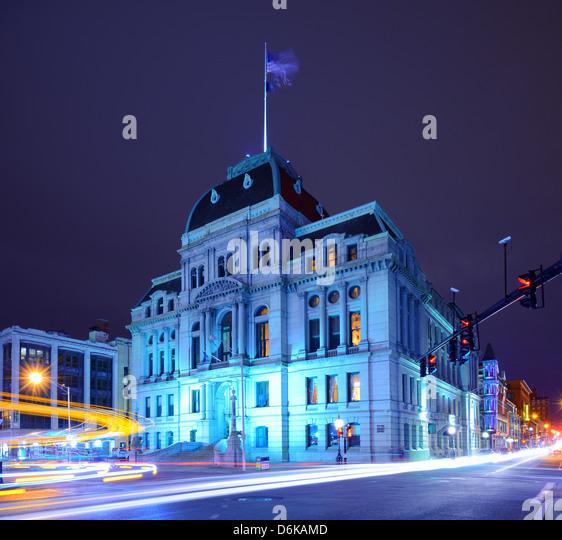 Providence City Hall - Stock-Bilder