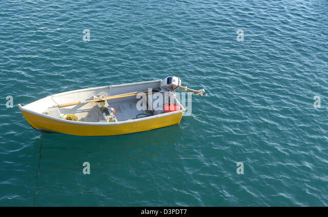Outboard Motor Boat Stock Photos Outboard Motor Boat