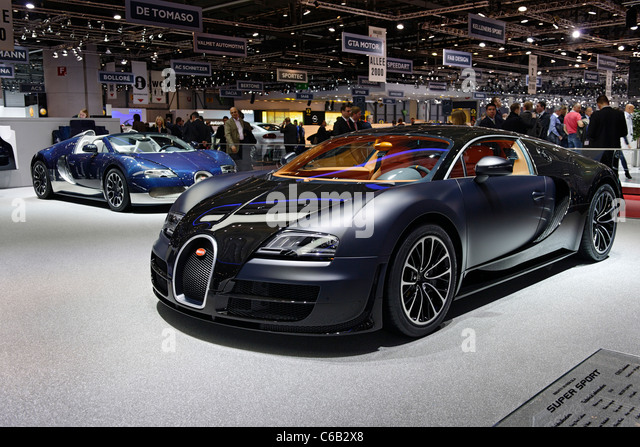 bugatti veyron super sport stock photos bugatti veyron super sport stock images alamy. Black Bedroom Furniture Sets. Home Design Ideas