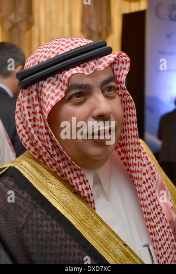 HH Prince Dr Turki Saud Mohammed Al-Saud, Vice President for Research Institutes at King Abdulaziz City for Science - Stock Image