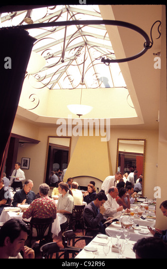 restaurant in Hollywood Los Angeles Southern California USA - Stock Image