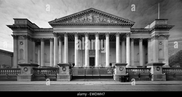 Fitzwilliam Museum Trumpington Street Cambridge - Stock Image