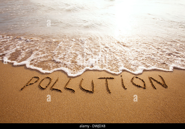 pollution - Stock Image