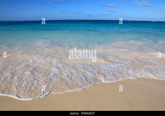 Tropical Beach, Punta Cana, Dominican Republic - Stock Image