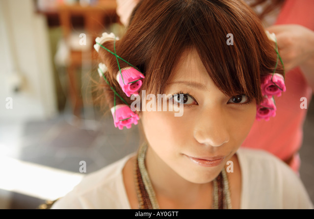 Hair Perm Stock Photos Amp Hair Perm Stock Images Alamy
