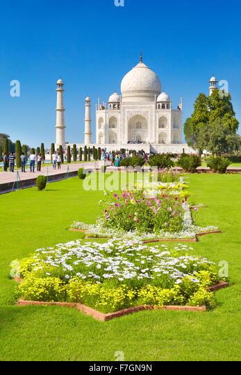Taj Mahal Garden Stock Photos & Taj Mahal Garden Stock