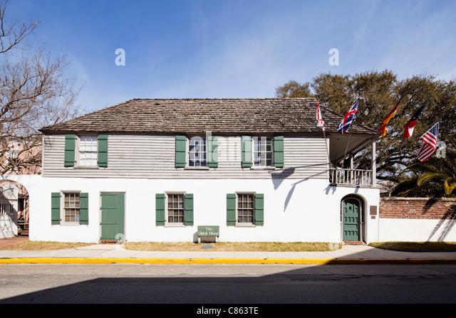 Oldest House, St Augustine - Stock-Bilder