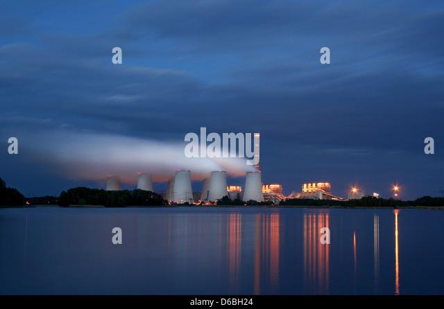 industry,industrial landscape,power station,janschwalde,power plant - Stock-Bilder