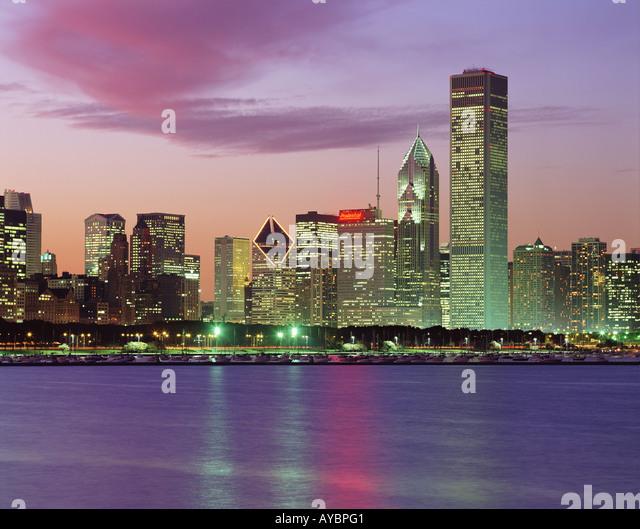 USA  ILLINOIS  CHICAGO - Stock Image